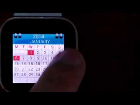 Video of Watch And Calendar - Liveview