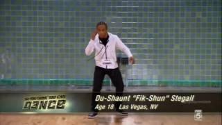 Du Shaunt 'Fik Shun' Stegall Audition So You Think You Can Dance Season 10