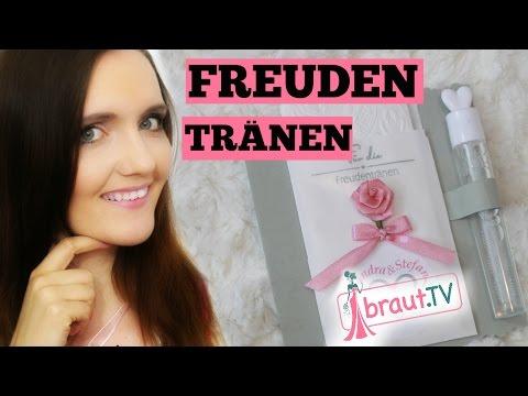 Freudentränen Taschentücher DIY | Hochzeit | braut.TV