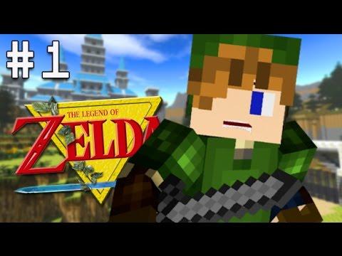Minecraft PS4 - Legend of Zelda Adventure - Part 1 ( LoZ Ocarina of ...