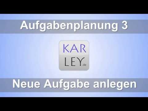 Karley Aufgabenplanung Feature: Drucken