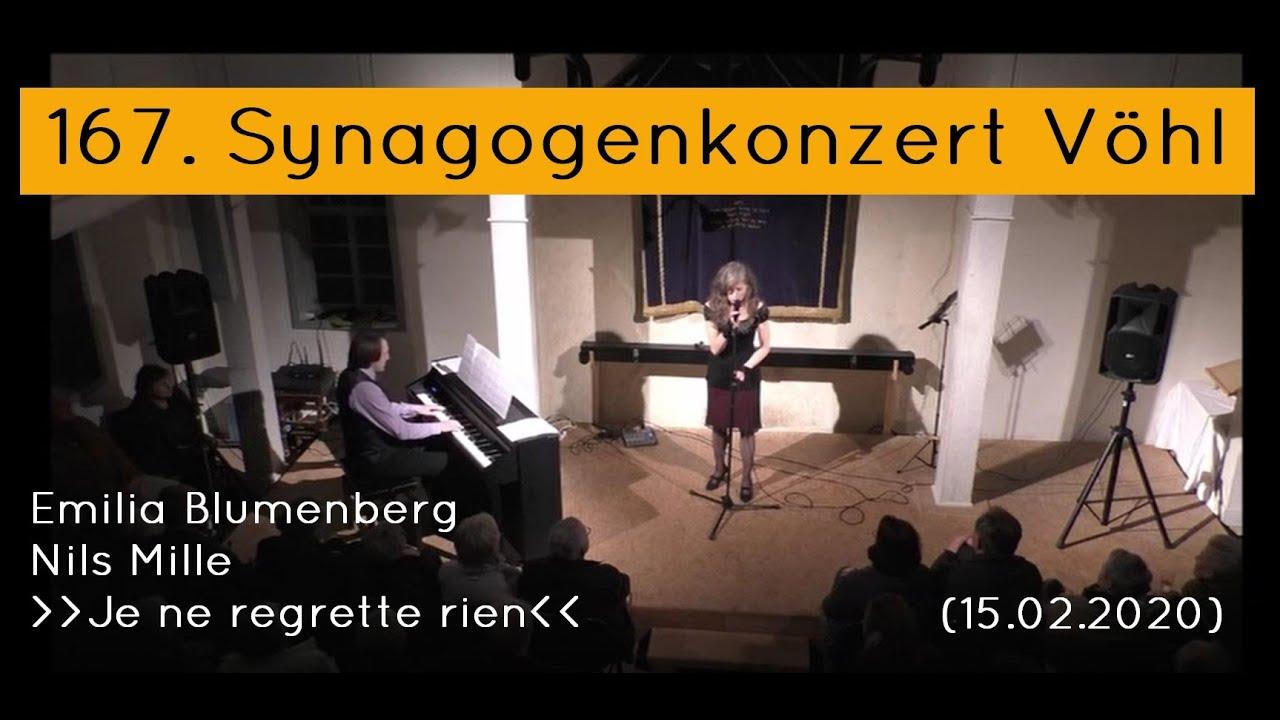 167. Synagogenkonzert Vöhl: Emilia Blumenberg und Nils Mille
