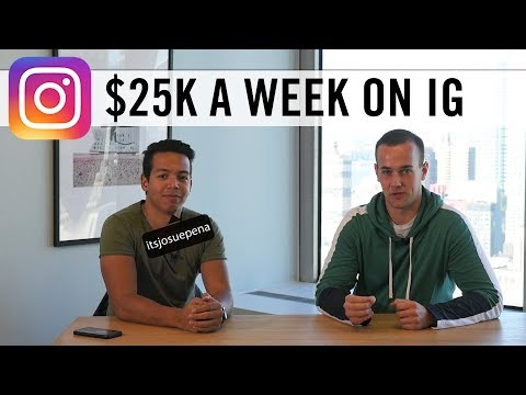 How Josue Pena Makes $25,000 A Week On Instagram! 😱 (Instagram Marketing Agency)