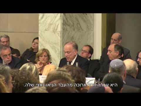 רונאלד לאודר מזהיר כנגד האנטישמיות הגואה באירופה