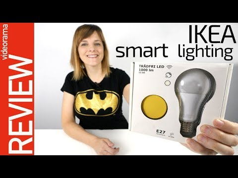 IKEA luces inteligentes review -DIVERSION de colores-