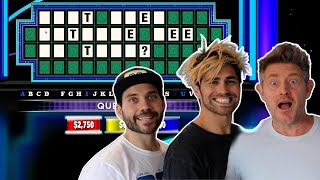 VLOG SQUAD'S INTENSE GAME OF WHEEL OF FORTUNE!!