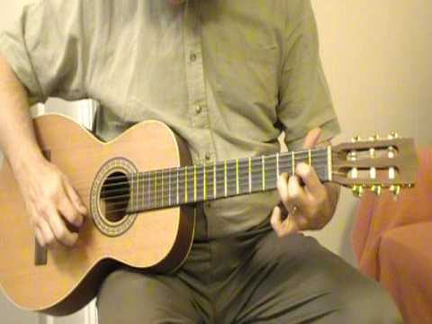 Beginning Guitar Lessons - D Major Chord - Open Position