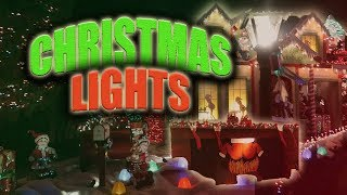The craziest Christmas Lights You will ever see!!!