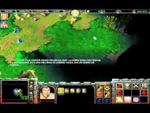 Warcraft 3 Reign of chaos(5) - Kampaň za lidi - Jainino setkání