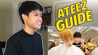 AN UNHELPFUL GUIDE TO ATEEZ REACTION!