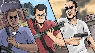 Прохождение Grand Theft Auto V (GTA 5) #1