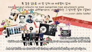 [Lyrics+Vietsub] Different - Winner