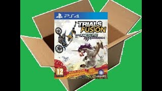 Trials Fusion The Awesome Max Edition [PS4] (Unboxing/Breakdown/Demo)