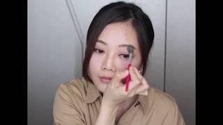 化妝視頻: 粉嫩裸色MATTE眼影 ••霧面眼影••