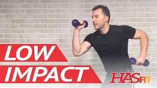 20 Min Low Impact Cardio Workout for Beginners - Beginner Low Intensity Cardio Workout Exercises by HASfit