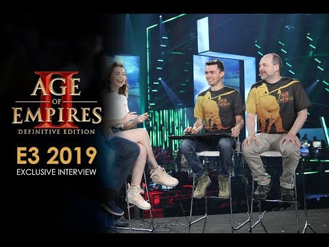 Age of Empires II: Definitive Edition - E3 2019 Mixer Interview thumbnail