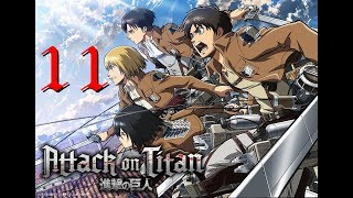 [PC GAME] Attack on titan: Wings of freedom - Full Gameplay Part 11 - 60 FPS 1080p