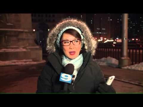 Iskald TV-reporter med dagens beste vintertips