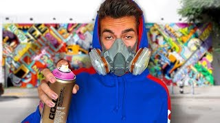 Making Street Art on Most Famous Wall in New York
