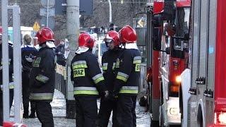 [Full HD] Pożar Na Ul. Pomorskiej We Wrocławiu! W Akcji 6 Zastępów PSP, 4 ZRM Oraz Policja!