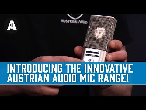 Introducing the Innovative Austrian Audio Mic Range!