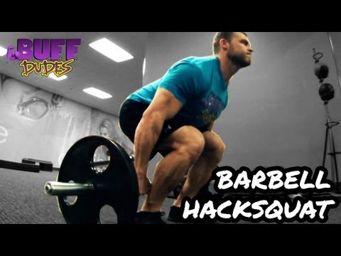 How to Perform Barbell Hack Squats - Big Quads Exercise