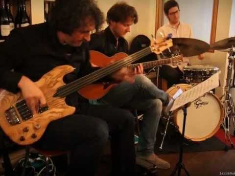 Footprints - Phil Wain Trio at Notes Covent Garden with Maciek Pysz and Demi Garcia Sabat
