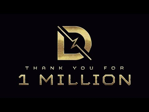 Thank you for 1 million Subscribers on YouTube! | DrLupo