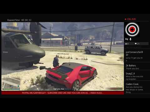 Episode 53 - GTA 5 LIVE Stream - Car Meet Money Drop Roleplay RP Bogdan Car Show Cruise PS4 Xbox PC