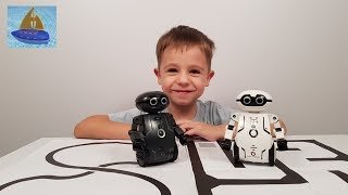 Роботы Мэйз Брейкер Новые возможности Управляем из приложения | Видео с игрушками Мастер Славика