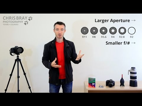 photography tutorial  aperture and depth of field by chris bray