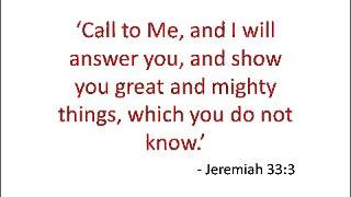 Great and Mighty Things - Jeremiah 3.33 -  2012.12.19