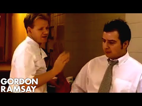 Ramsay Explodes at Lying Chef - Gordon Ramsay