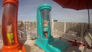 Download Youtube: OLD LADY FLUSHED - Old Lady Drops In Scariest Slide - HD - GoPro