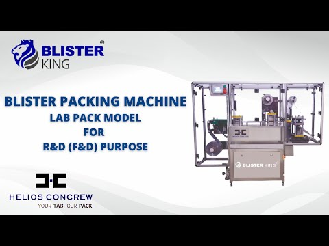 HC Triumph ALU Blister Packing Machine