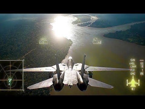 Ace Combat 7 – 15 Minutes of Gameplay Demo PS4 (E3 2017)