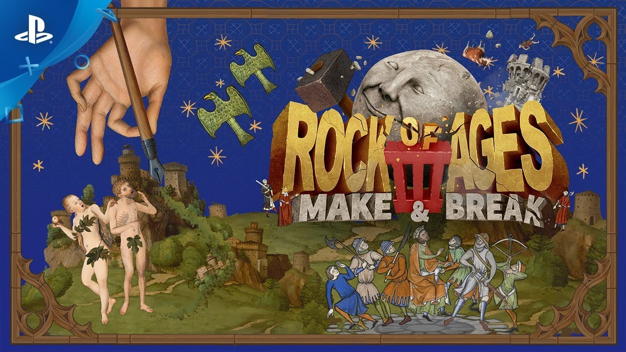 Rock of Ages 3 Rolls To PS4 Early Next Year