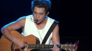 Austin Mahone - Heart In My Hand/ Beautiful Soul (Cologne, Germany 6/28/14) FULL HD