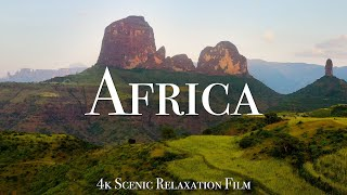 Africa 4K - Scenic Relaxation Film With Calming Music