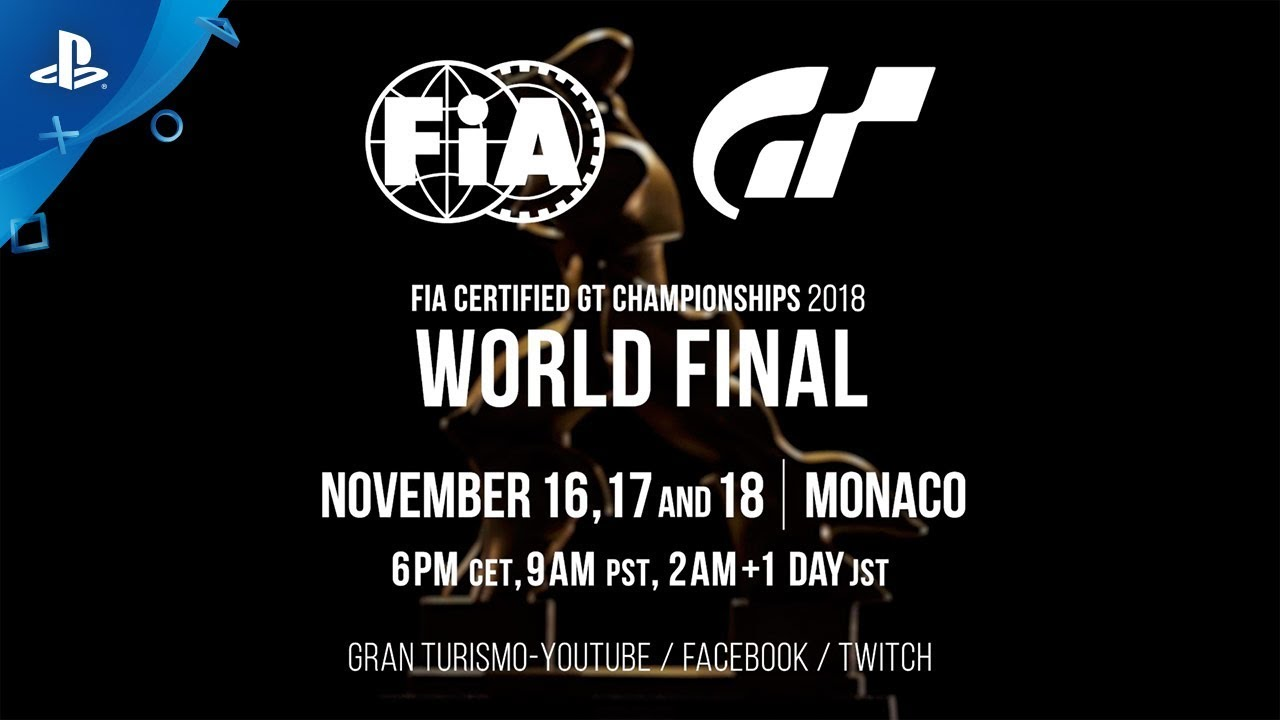 FIA Gran Turismo World Championships This Weekend