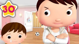 Brothers and Sisters STOP BUGGING | Kids Songs | Little Baby Bum | ABCs and 123s
