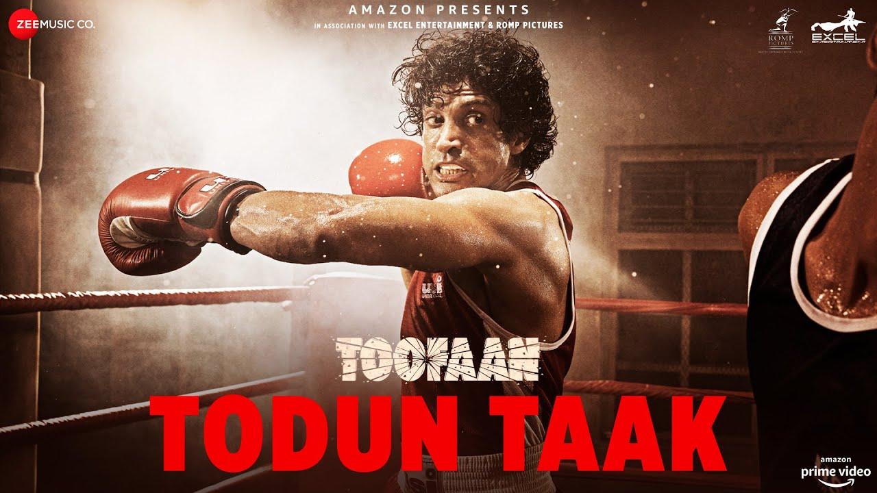 Todun Taak | Toofaan | Farhan Akhtar & Mrunal Thakur | D'Evil | Dub Sharma| D'Evil Lyrics
