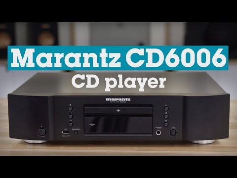 Marantz CD6006 CD player | Crutchfield video