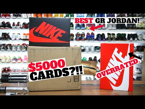 BEST GR JORDAN RELEASE in 2021? + I INVESTED $5000 INTO TRADING CARDS?!