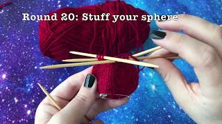 How to Knit a Sphere (Ball)