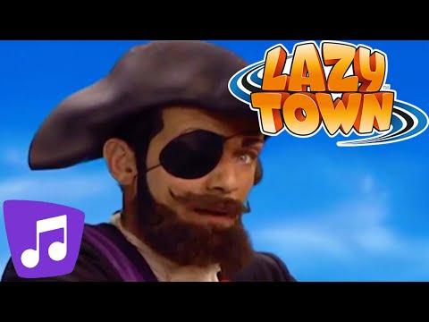 Lazy Town en Español   Somos Piratas y Mucho Más Video Musical