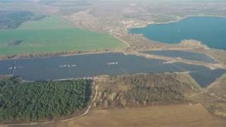 Новая солнечная станция на Днепропетровщине