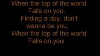 Top of the World by All-American Rejects lyrics