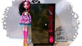 How to make a wardrobe for dolls. Как сделать шкаф для кукол.