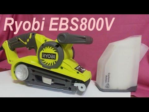 001 Разбираем Ryobi EBS800V (замена смазка подшипников)